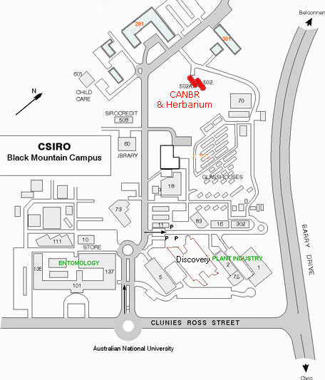 CSIRO site map