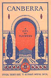 cover - Canberra City of Flowers booklet