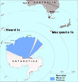 Weather Subantarctic Islands