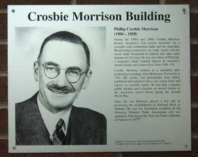 Morrison Building - ANBG