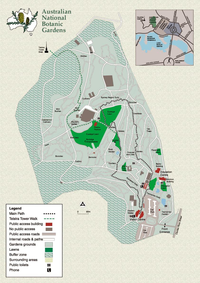 Coloured Map Of Gardens (JPG) ...