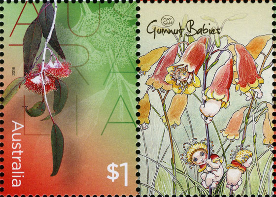 may gibbs gumnut babies stamp pack 2016
