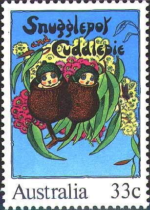 Snugglepot & Cuddlepie stamp